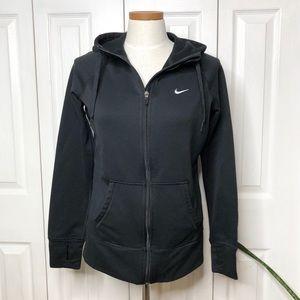 Nike Therma-fit full zip hoodie, thumb hooks